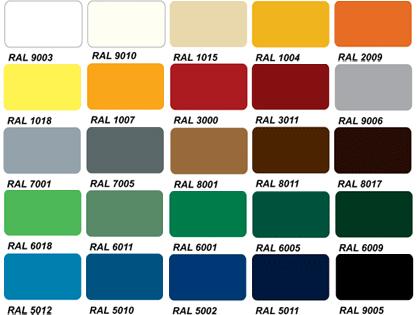 Barvy vzorník