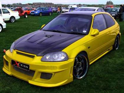 Body kit Honda Civic - Xcess