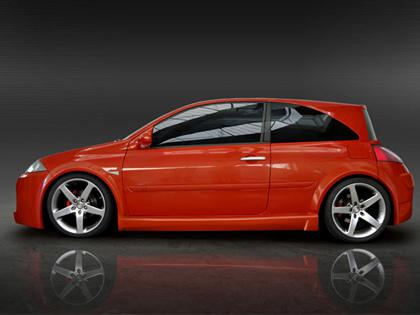 Body kit Helios Renault Megane II - Spoilercentrum - online tuning shop