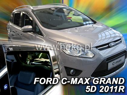 Deflektory-ofuky oken Ford Focus Grand C MAX