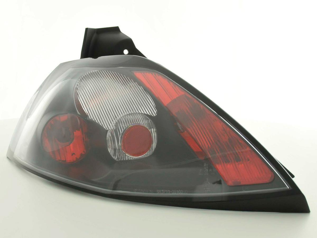 923275e15d Zadní světla Renault Megane II černá - Spoilercentrum - online ...