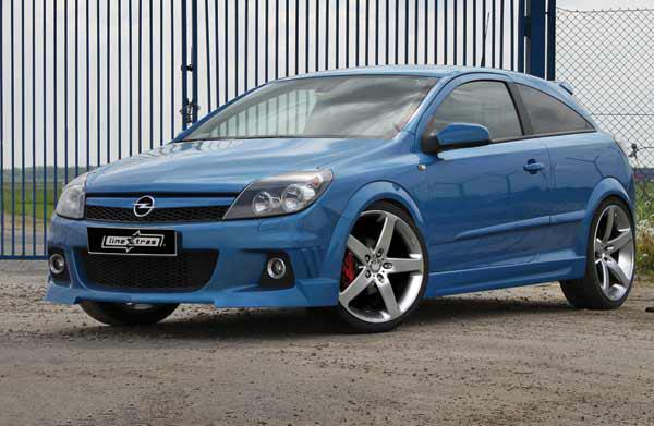 Body kit Knight Opel Astra GTC
