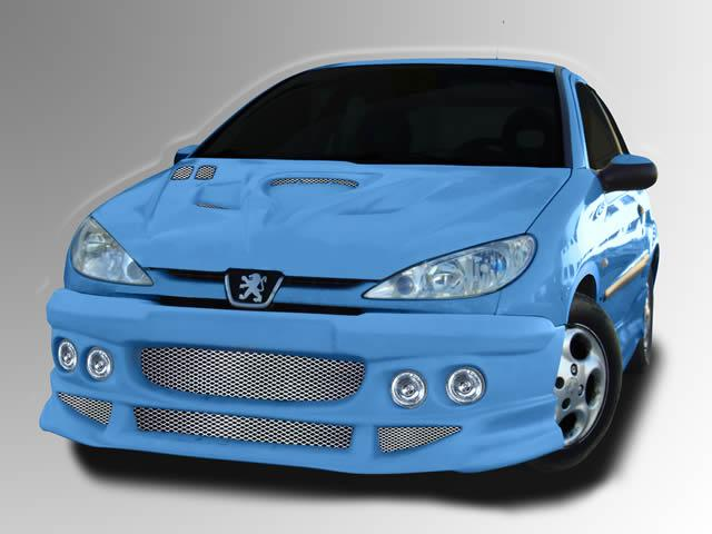 Body kit Earth Peugeot 206