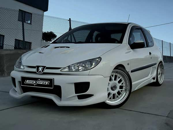 Body kit Jupiter Peugeot 206