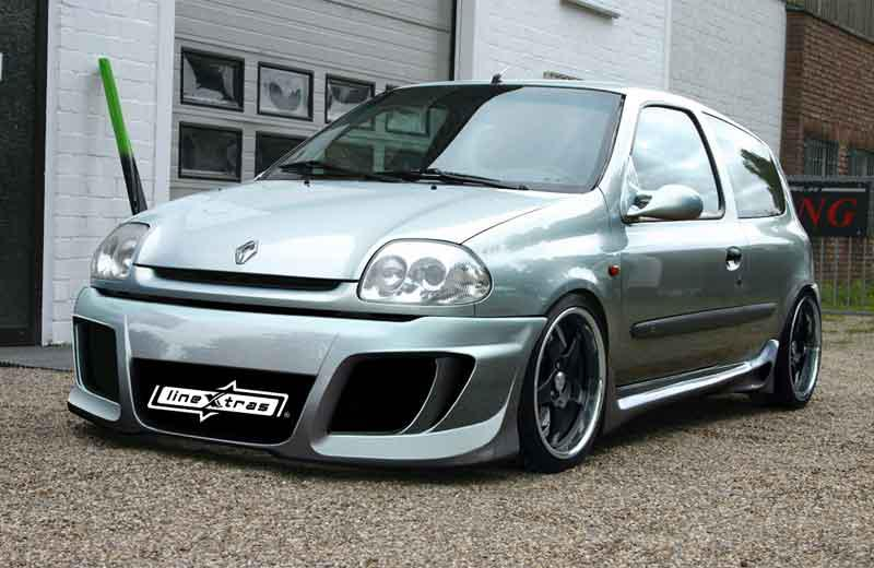 Body kit Renault Clio II