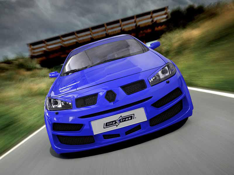 Body kit B - Wild Renault Megane II facelift