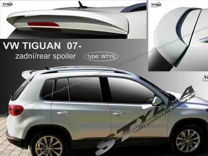 st ka st e n spoiler volkswagen tiguan. Black Bedroom Furniture Sets. Home Design Ideas