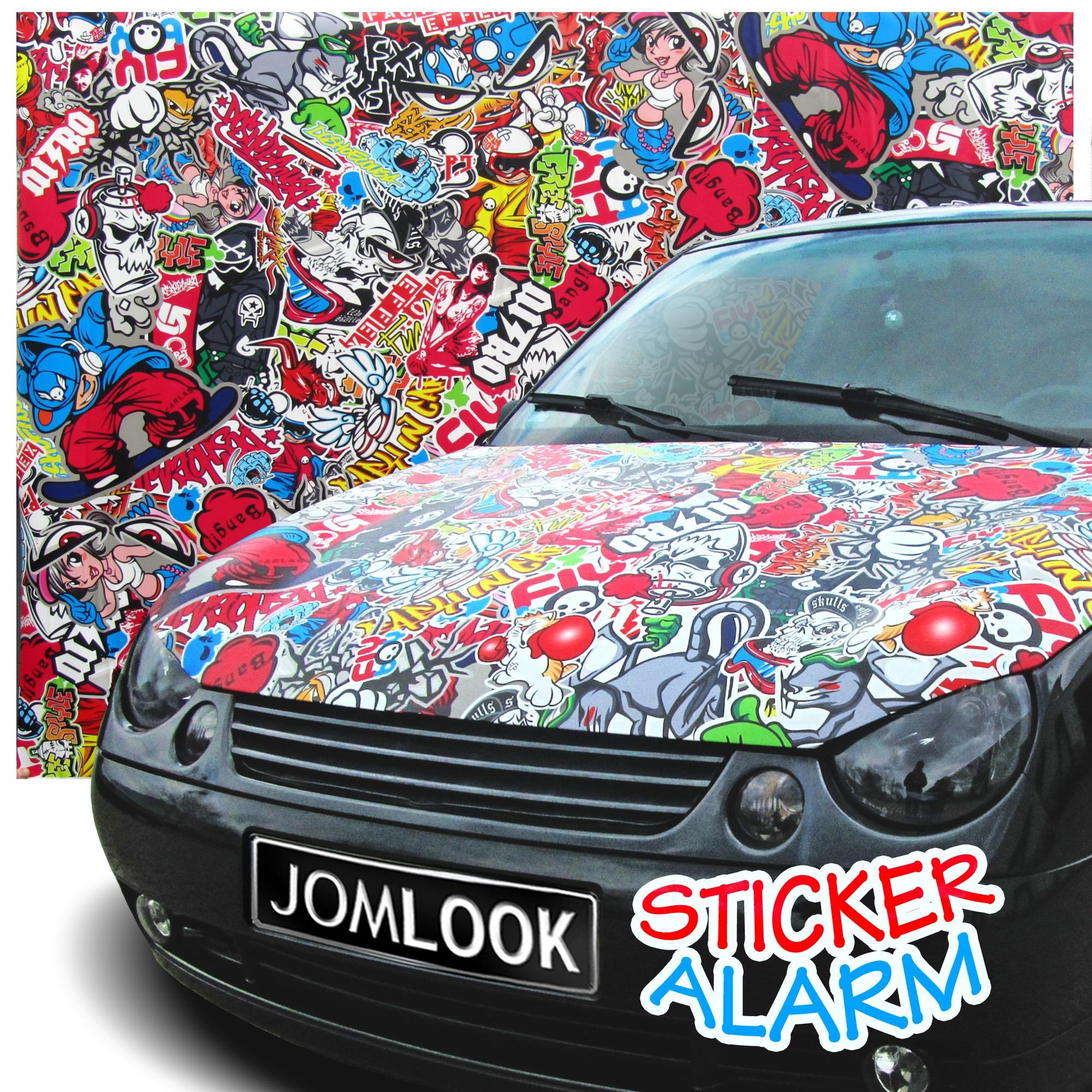Autofolie Sticker Design JOM, 152x200cm