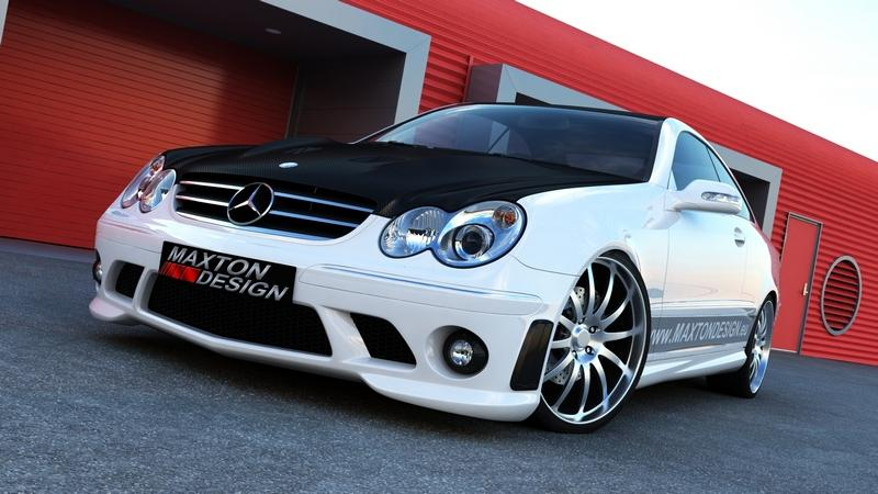 Body kit Mercedes CLK W209 AMG Look