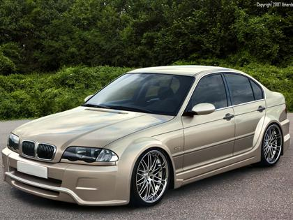 Body kit BMW E46 - Cosmic WIDE