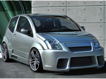 Body kit Citroen C2 - Frantik WIDE