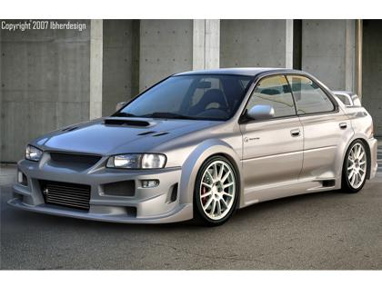 Body kit Subaru Impreza - Monza Wide