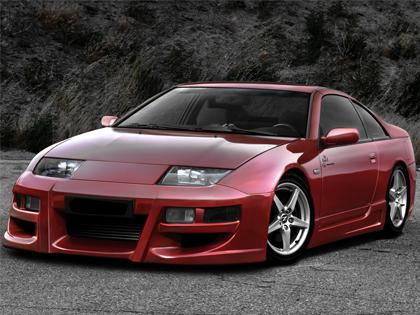 Body kit Nissan 300 ZX - Vapor