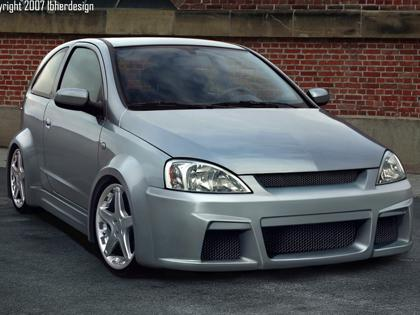 Body kit Opel Corsa C - Hypno_cis WIDE