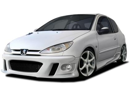 Body kit Peugeot 206 - Maxstyle