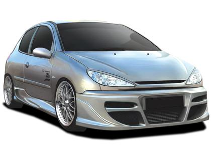 Body kit Peugeot 206 - Tekno