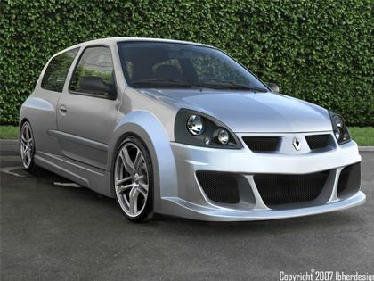 Body kit Renault Clio III - Mohave WIDE